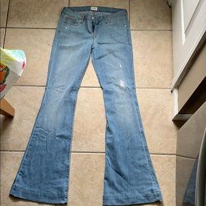 BRAND NEW Hudson Ferris Flap Flare Jeans 28